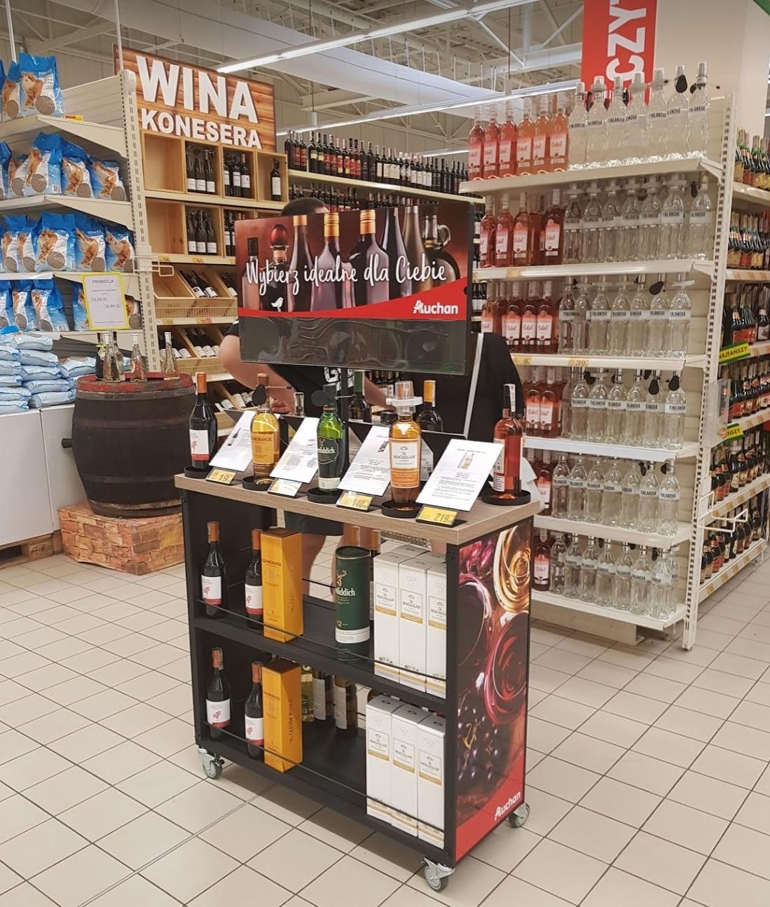 Kategoria alkoholi Auchan